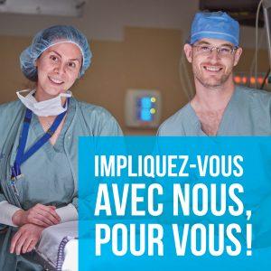 #FondationDuChuDeQuebec #FCHUQC #CampagneMedecins