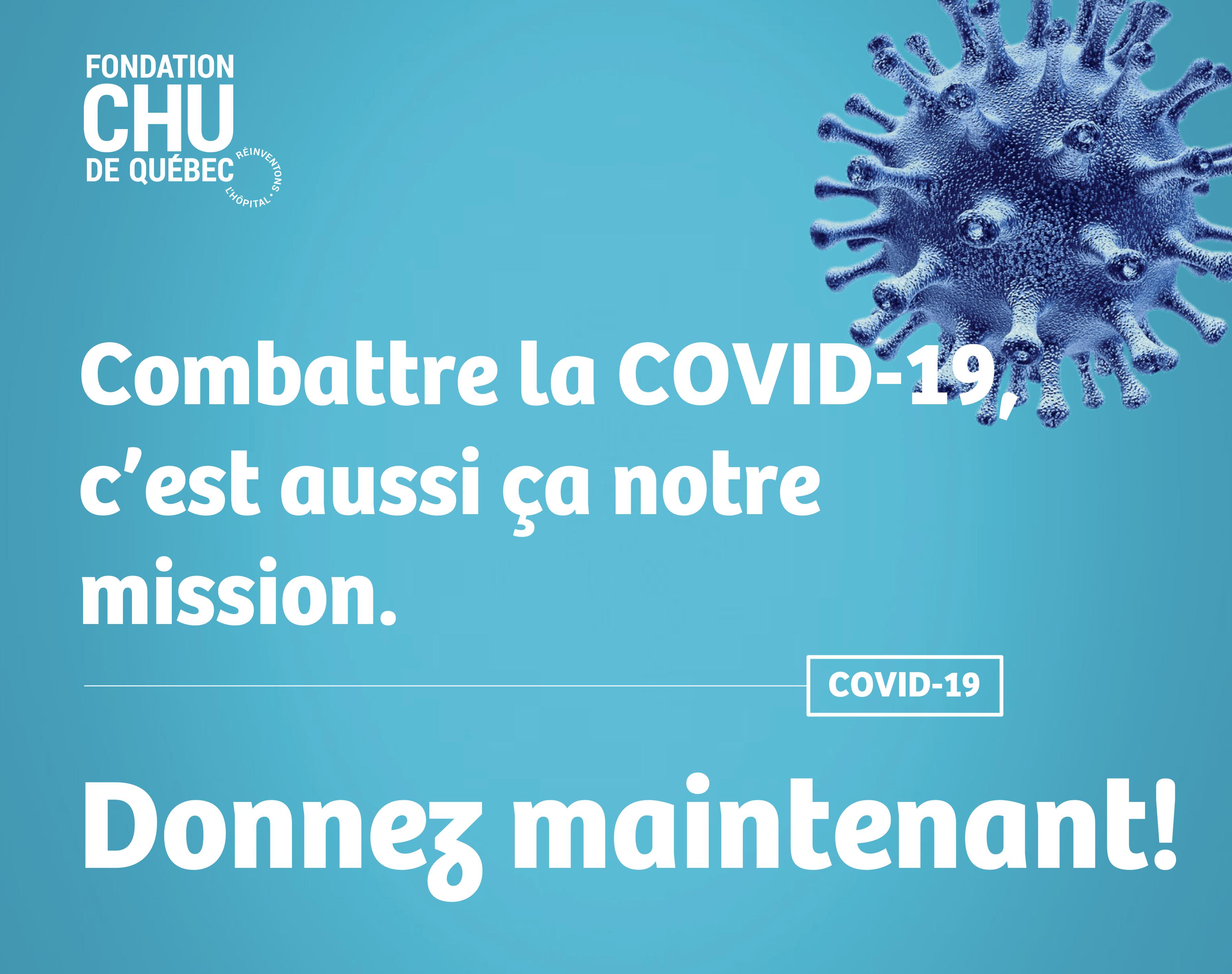 COVID-19 - Combattre